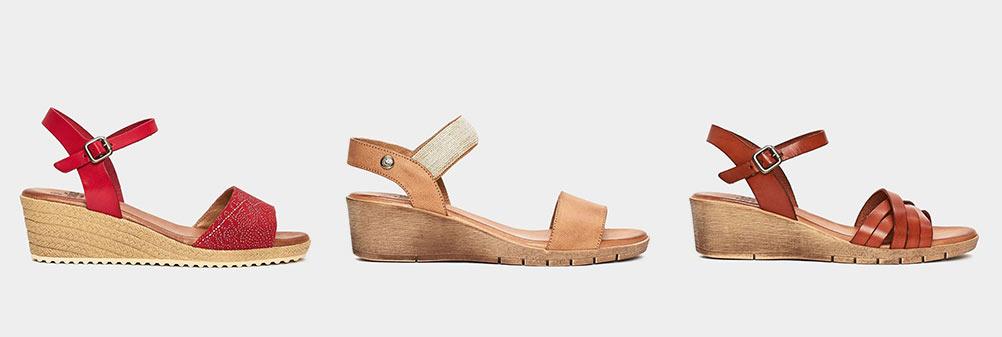 Fresia sandalias confortables